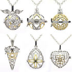Classical Hollow Locket Essential Oil Diffuser Pendant Aromatherapy Necklace