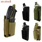 US Stock Open-Top Molle Elastic Kangaroo Magazine Pouch Bag Fo Rifle and Pistol