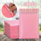 50Pcs Poly Bubble Mailer Padded Envelopes Self Seal Lined Shipping Bag Packaging