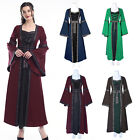 Clearance Women Vintage Medieval Dress Witch Renaissance Gothic Costume Party