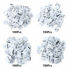 400-Pack Clothing Size Tags Labels S/M/L/XL Polyester Woven for Sewing Craft_USA
