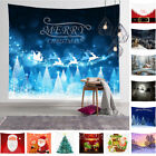 Wall Hanging Christmas Tapestry Bedspread Throw Blanket Cover  Home Decoration