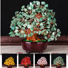 Home Table Decoration Good Luck Birthday Feng Shui Colorful Crystal Money Tree