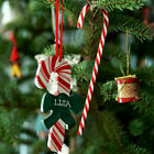 1-10x Christmas Acrylic Candy Cane Xmas Tree Hanging Canes Decor Ornaments