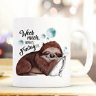 Cup Mug Sloth & Saying