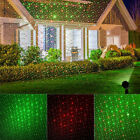 5M/16.4ft Halloween LED Moving Laser Projector Light Xmas Party Landscape Lamp
