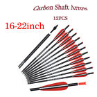 12XCarbon Arrows 8.8mm Screws Tips Archery Crossbow Target Training Hunting