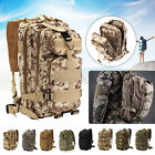 30L Military Tactical Army Backpack Rucksack Camping Hiking Trekking Outdoo