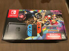 Nintendo Switch Mario Kart 8 Deluxe Bundle 32GB - Red/Blue - BRAND NEW IN HAND