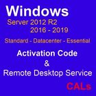 Cal Product TS Multi About W sv 2019 2012r2 2016 Essentials/Datacenter/Standard