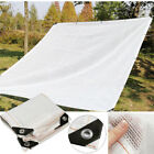 Rate White Car Sunblock Sunscreen Cloth Anti-UV Sunshade Net Shade Cover