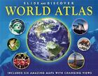 Slide and Discover: World Atlas Green, Jen Hardcover Used - Good