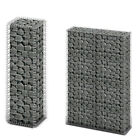 Gabion Baskets with Lid Galvanised Wire Stone Garden Fence Wall Metal stone wall
