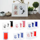 Baby Kids Pets Handprint Footprint Ink Pad Paw Print Kit Non-Toxic Baby Gift US