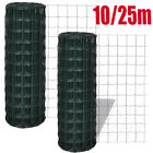 Euro Fence Steel 10x0.8 m Green Fencing Barrier Border Screen Multi Sizes 25m