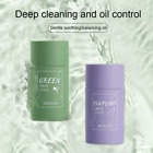 Green Tea Purifying Clay Stick Mask Oil Control Anti-Acne Eggplant Solid Fine -