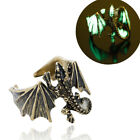 Adjustable Unisex Dragon Ring Men Domineering Personality Jewelry Opening Rings