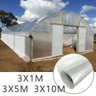 Greenhouse Polytunnel Cover Clear Film Sheeting Plastic Film Foil Cover Garden