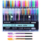 Внешний вид - 48 Unique Colors (No Duplicates) Gel Pens Gel  Pen Set for Adult Coloring Book