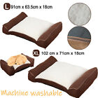 Large Dog Bed | Deluxe Quality Puppy Orthopaedic Bed | Super Warm Washable