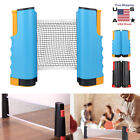 Retractable Table Tennis Ping Pong Net Portable Games Kit Replacement Set Indoor