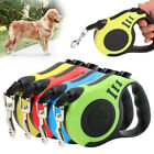 Strong Long Retractable Dog Lead Locking Extending Tape Cord Pet Dog Leads 3M 5M