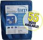 """20x30"""" All-Purpose Poly Tarp For Roofing Tent Boat Outdoor Furniture Cover"""