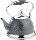 HausRoland Tea Kettle Mini Stainless Steel 1.1-Quart Stove Top Induction Modern