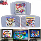 Mario Party 1 2 3 Video Game Cartridge Console Card US Version For Nintendo N64