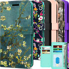 Fit Motorola Moto E7 Leather Phone Case + Screen Protector RFID Wallet Cover