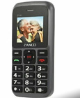 Zanco Big Button Mobile Phone Large Clear Text Simple Basic Easy Use All Colours
