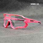 KAPVOE Photochromic Cycling Sunglasses TR90 Road Mountain Cycling Sport Glasses