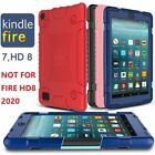 'For Amazon Kindle Fire 7 Hd 8 Kids Safe Shockproof Silicone Tablet Case Cover