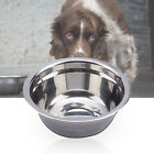 Dog Feeding Bowl Pets Portable Eco-friendly Metal Tableware Supplies for Dogs