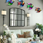 Wall Hanging Garden Wrought Iron Metal Fish Bedroom Craft Home Decor Office