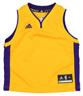 Adidas Basketball NBA Toddlers Los Angeles Lakers Replica Home Jersey, Yellow