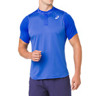 Asics Men's Gel Cool Polo Blue for Tennis, Squash, Gym, Workout, Training