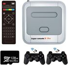 Super Console X Pro 50,000 Retro Game Console Wireless Controllers Up To 256G
