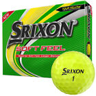 Srixon Soft Feel Golf Balls 12 (1 Dozen) NEW in Retail Packaging