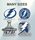 Tampa Bay Lightning NHL Hockey Sticker Vinyl Decal Hunting Truck Car BumperSports Stickers, Sets & Albums - 141755