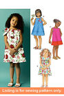 SEWING PATTERN - Sew Girls Clothing Clothes - Party Dress Sundress Toddler 5876