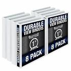 Samsill S88430 3 Ring Durable View Binders - Assorted Styles , Sizes , Colors