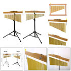 1Set Golden Bar Chimes Musical Instrument for Percussion Table Meditation