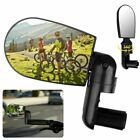 2pcs Mini Rotaty Handlebar Glass Rear view Mirror for Road Mountain Bike Bicycle