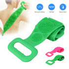 Long Bath Towel Pull Back Strap Wash Scrubber Exfoliating Silicone Scrub 60CM