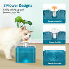 2.0L USB LED Automatic Electric Pet Water Fountain Cat/Dog Drinking Dispenser UK