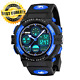 Kids Watches Boys for 5-12 Year Old, Digital Sports Waterproof Blue