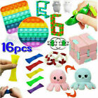 28 Pack Fidget Toys Set Sensory Tools Bundle Stress Relief Hand Kids Adults Toys