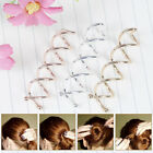 10 Pcs Spiral Twist Hair Pins Spin Clips Bun Stick Pick for DIY Hair Style  SVV
