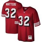 San Francisco 49ers Ricky Watters 32 Mitchell  Ness Red 1994 NFL Legacy Jersey